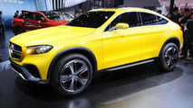 Mercedes-Benz Concept GLC Coupe arrives in Shanghai to preview BMW X4 fighter