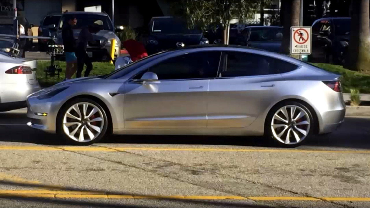 Tesla Model 3 prototype