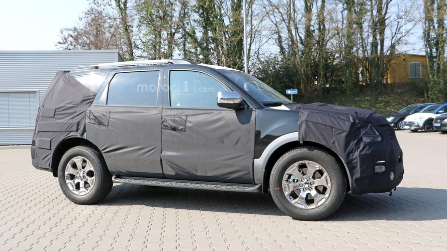 Kia Mohave spied in Germany, might make a return to the US