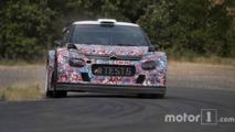 La Citroën C3 WRC 2017 fait ses débuts sur l'asphalte