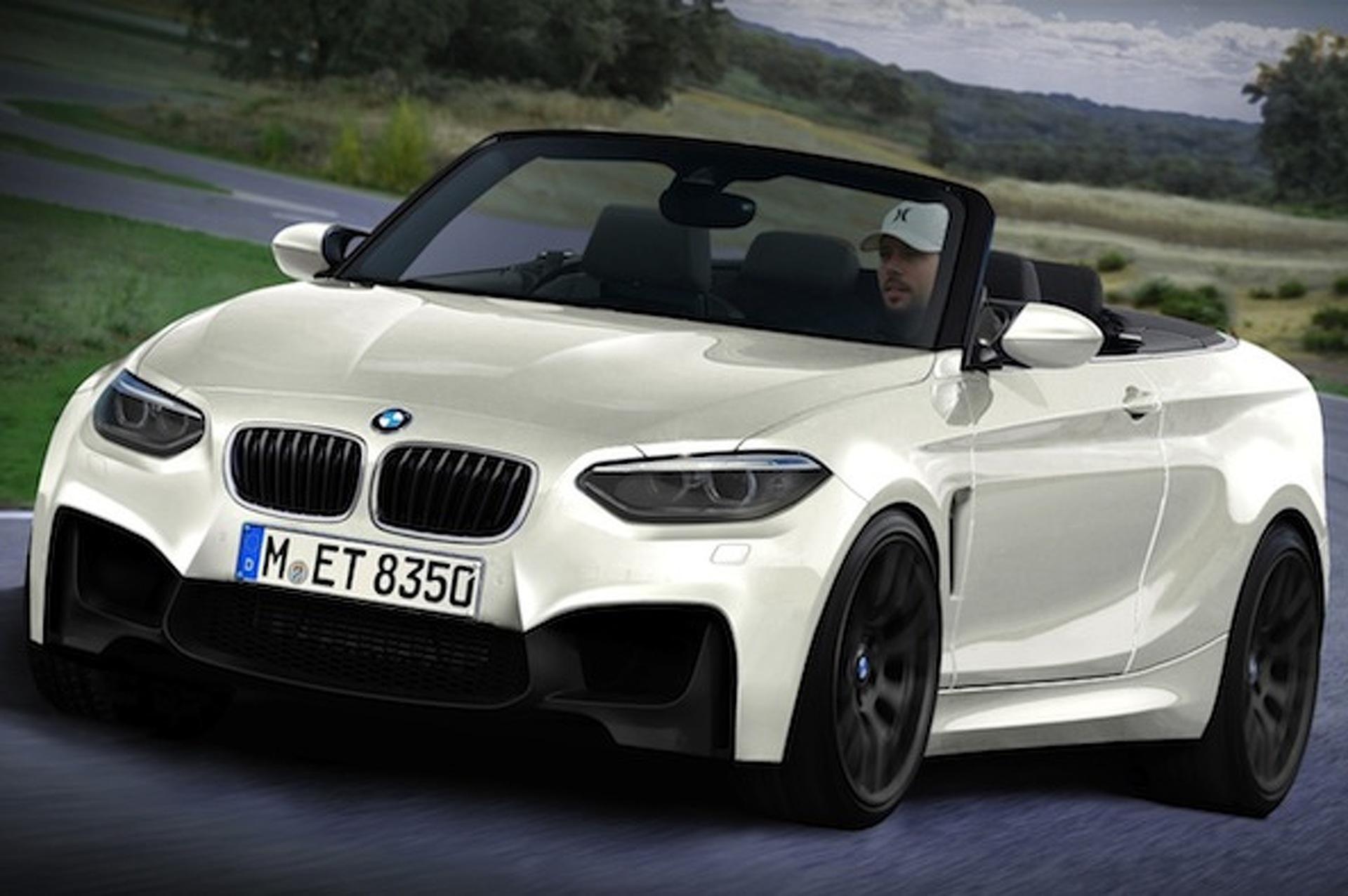 BMW M2 Convertible Concept Evens Up M Performance Line