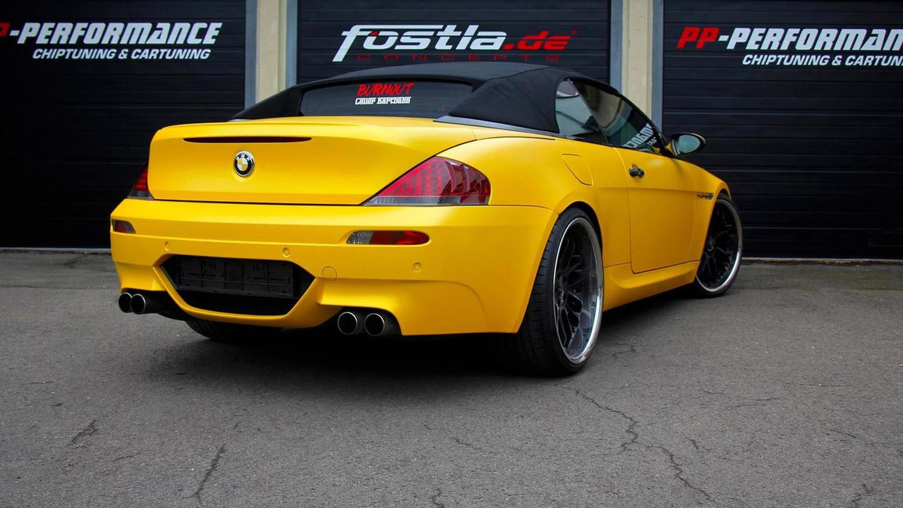 First generation BMW M6 Cabrio by FOSTLA.DE and PP-Performance