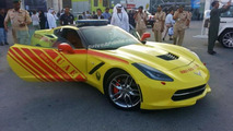 Chevrolet Corvette Stingray joins Dubai Fire Brigade