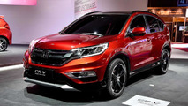 2015 Honda CR-V facelift prototype at 2014 Paris Motor Show
