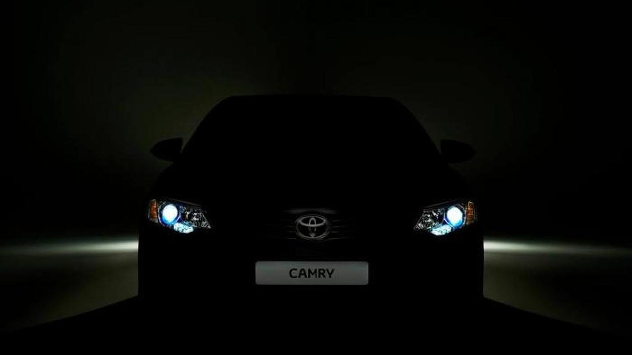 2015 Toyota Camry teaser image (international variant)