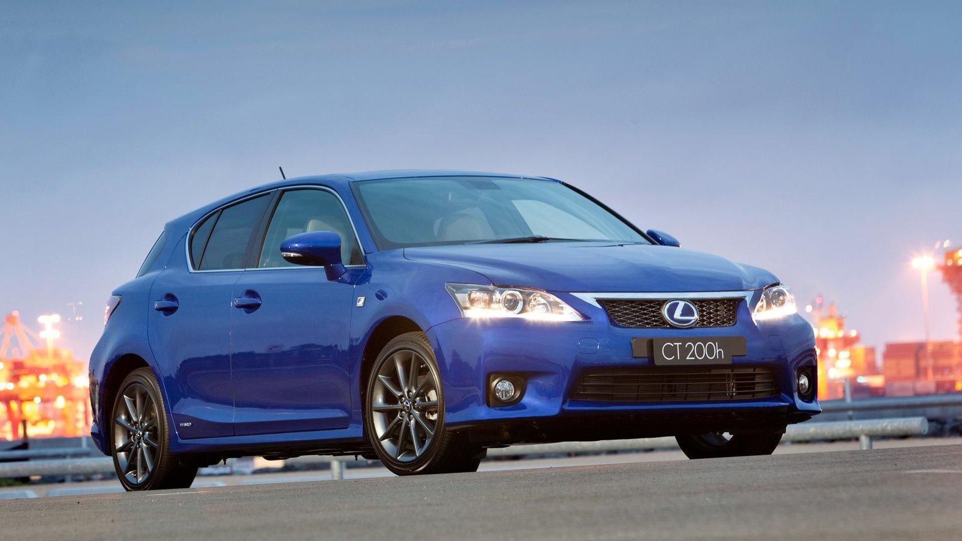 2012 Lexus CT200h gets the F-Sport package in US