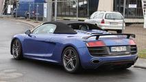 Audi R8 GT Spyder spied first time 17.05.2011