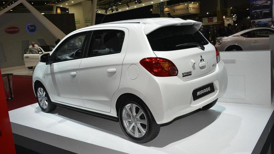 2013 Mitsubishi Mirage debuts in Paris