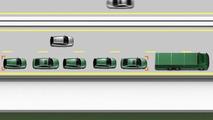 Volvo road train tech for SARTRE 25.1.2012