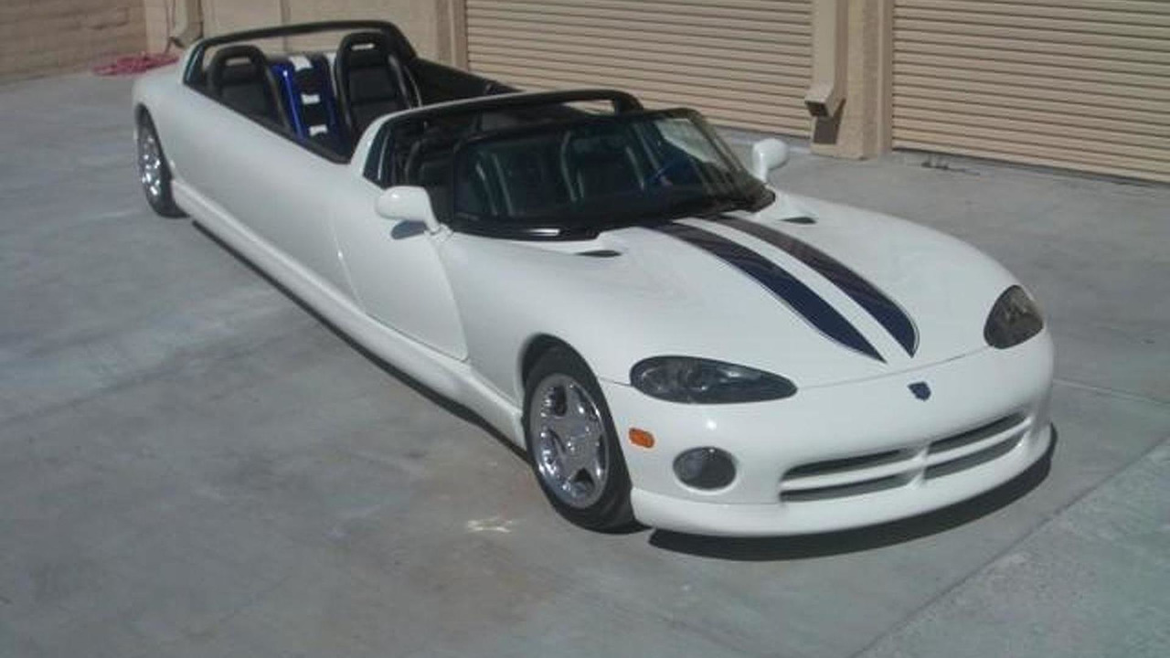 Dodge Viper Limousine by Unique Movie cars