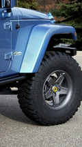 Jeep Wrangler All-access at SEMA
