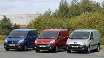 PSA Peugeot Citroen and Fiat Unveil New Compact Vans