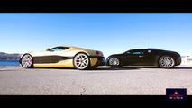 VIDÉO - La Rimac Concept_One face à la Bugatti Veyron !