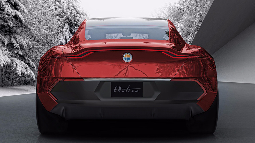 Fisker EMotion shows off its rear