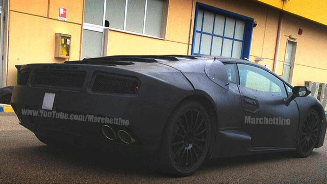 Lamborghini Gallardo replacement spy photo 18.06.2013