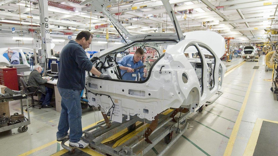 First pre-production 2012 Opel Ampera rolls off assembly line in Michigan