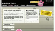 smart & Pink Panther site screenshot