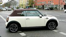 MINI Cooper S Convertible spy photos