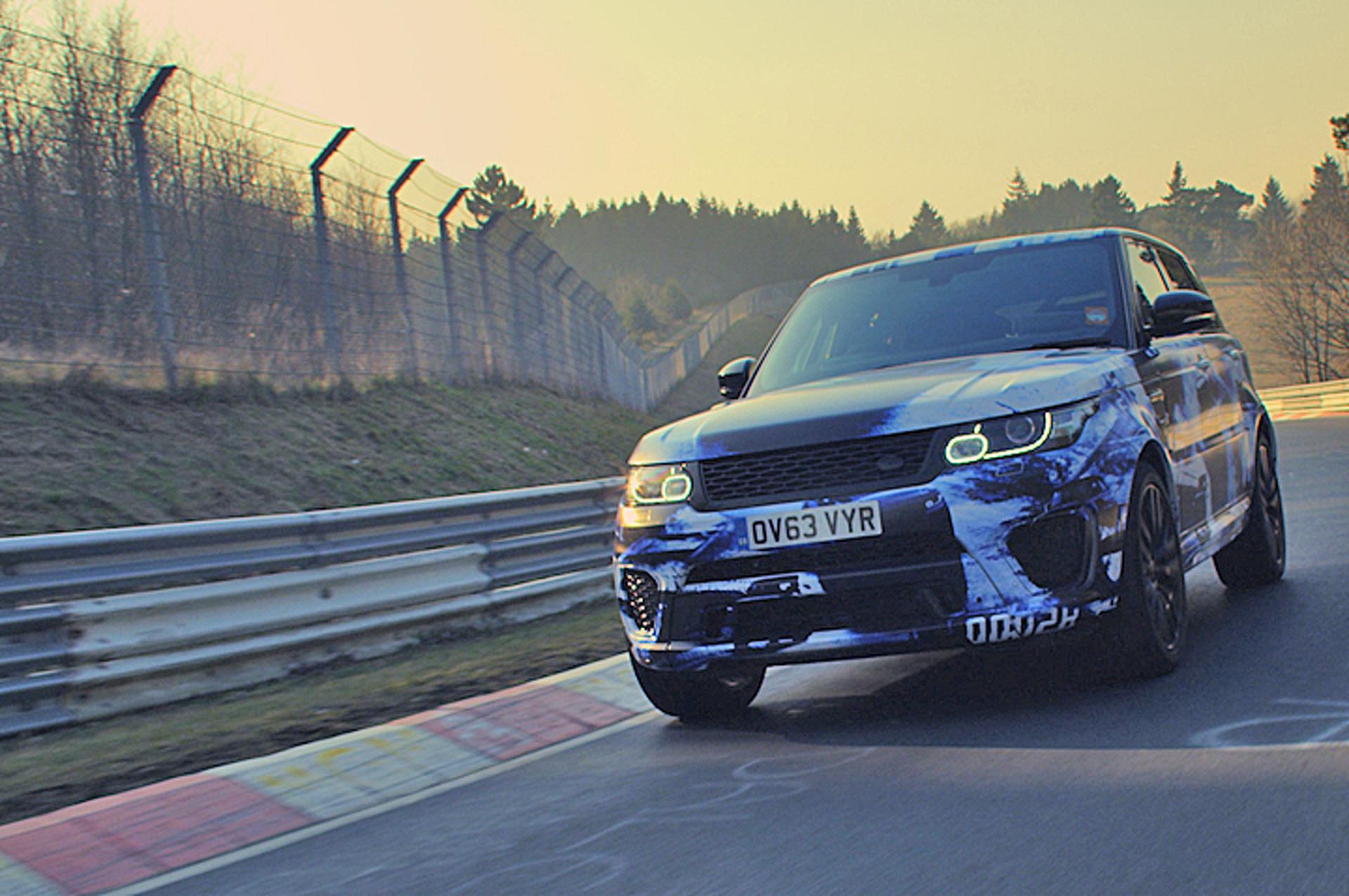 Range Rover Sport SVR Sets Speed Record [Video]