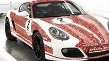Porsche Cayman S 2,000,000 Facebook fan car - low res - 18.1.2012