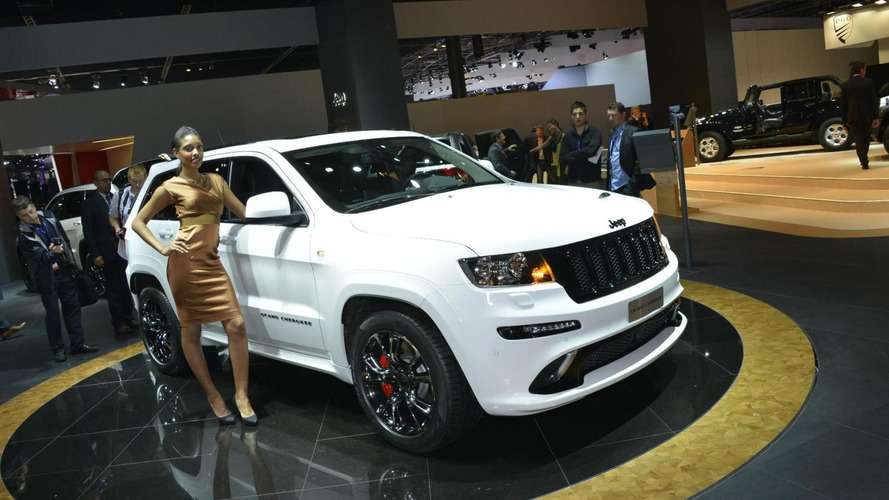 2013 Jeep Grand Cherokee SRT8 limited edition brings some US flavor to Paris