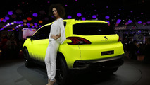 Peugeot 2008 concept at 2012 Paris Motor Show