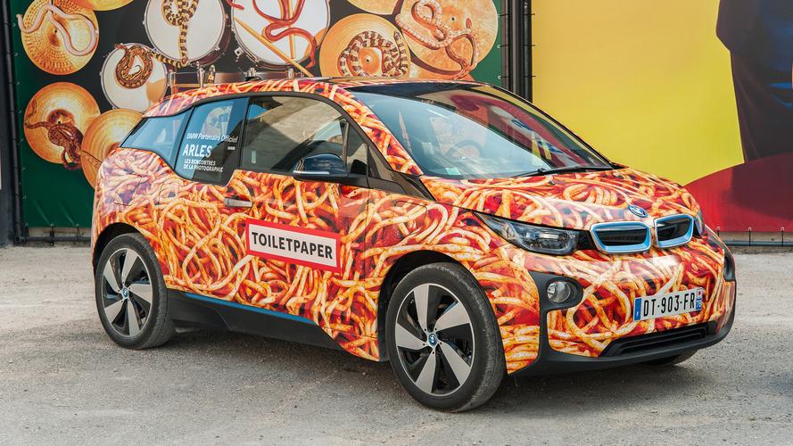 BMW i3 Spaghetti Car unveiled, is not an art car
