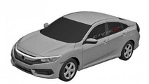 Next generation Honda Civic Sedan and Coupe revealed through leaked patent sketches