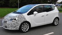 2014 Opel Meriva facelift spy photo 24.09.2013