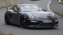 Porsche accidently confirms the Cayman GT4