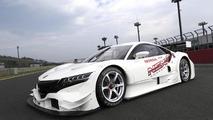 Honda NSX Concept-GT race car takes a tea break [video]