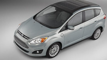 Ford unveils C-MAX Solar Energi concept with solar panel roof at CES [video]
