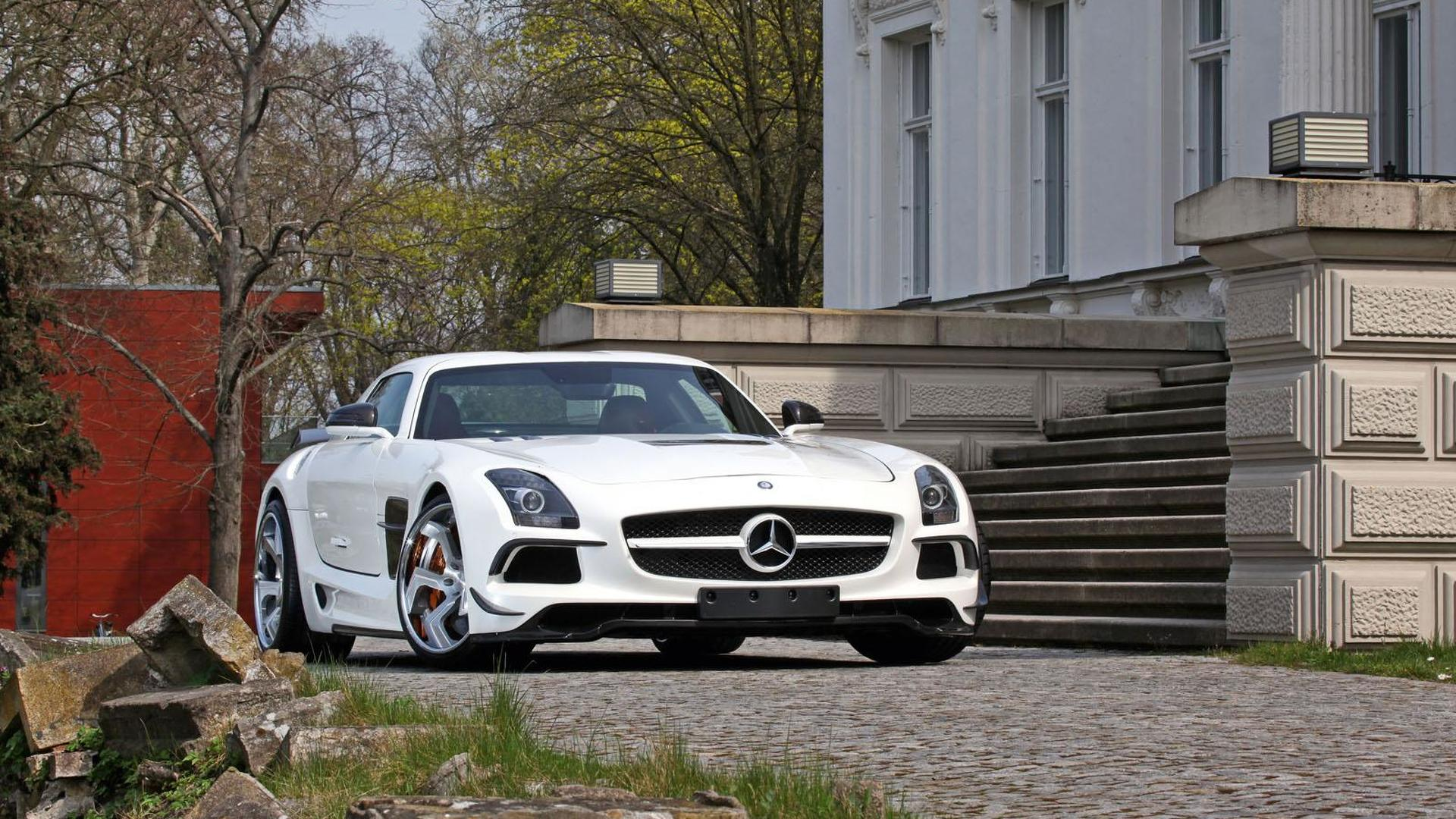 SGA unveils their widebody kit for the Mercedes SLS AMG