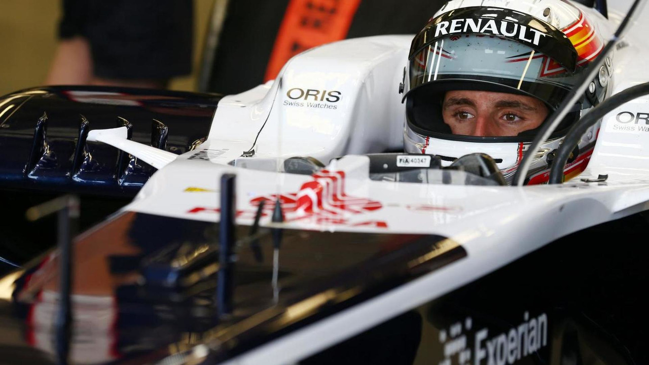 Daniel Juncadella 17.07.2013 Formula One Young Drivers Test Silverstone England