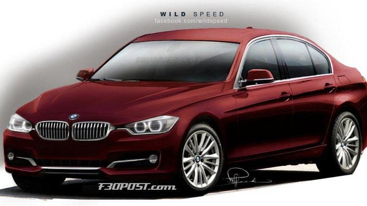 2012 BMW 3-Series rendered 09.09.2011