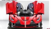 LaFerrari LMP1 race car rendered, previews rumored Ferrari Le Mans returning