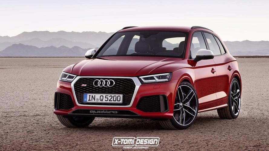 Audi RS Q5 - Le rouge lui va si bien