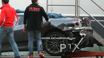 Schumacher's crashed Ferrari F430 Scuderia Prototype