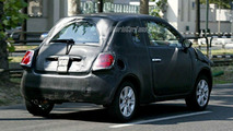 Spy Photos: More New Fiat 500