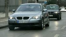 New BMW 5-Series facelift spy photos