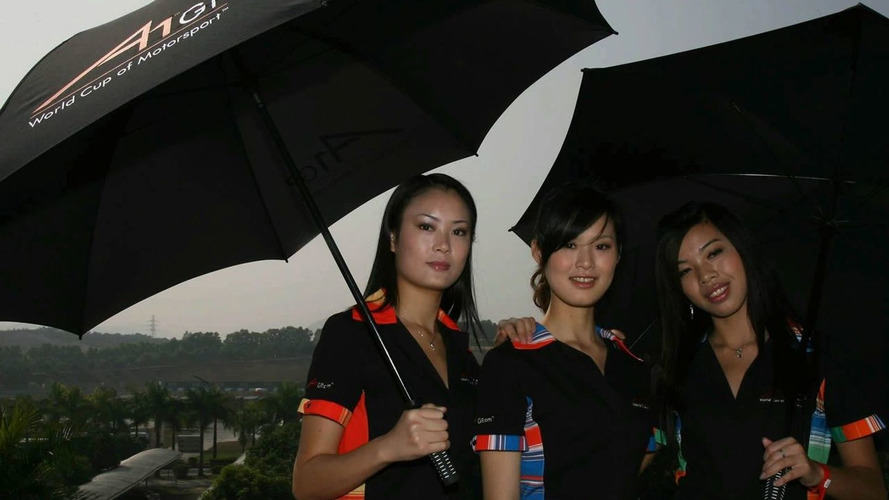 Rain forecast for Chinese GP weekend