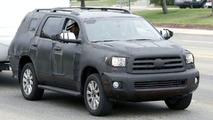 Toyota Sequoia Limited Spy Photos
