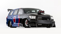Toyota Sequoia Family Dragster Concept By Antron Brown going to SEMA