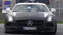 Mercedes SLS AMG Black Series spied showing new details