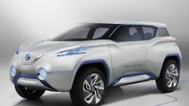 Nissan TeRRA concept presented in Paris
