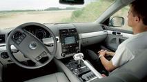 Volkswagen Touareg Prototype, driver is optional