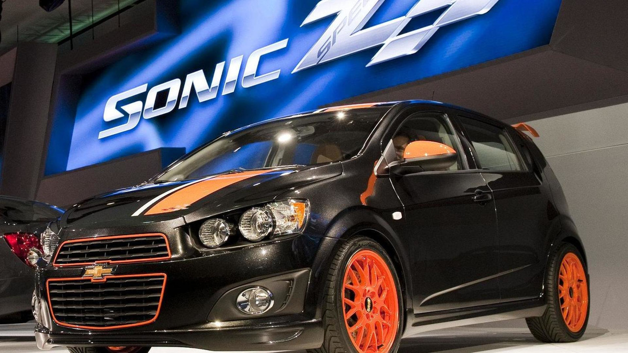 Chevrolet Sonic Z-Spec Concept live in Detroit 10.01.2011