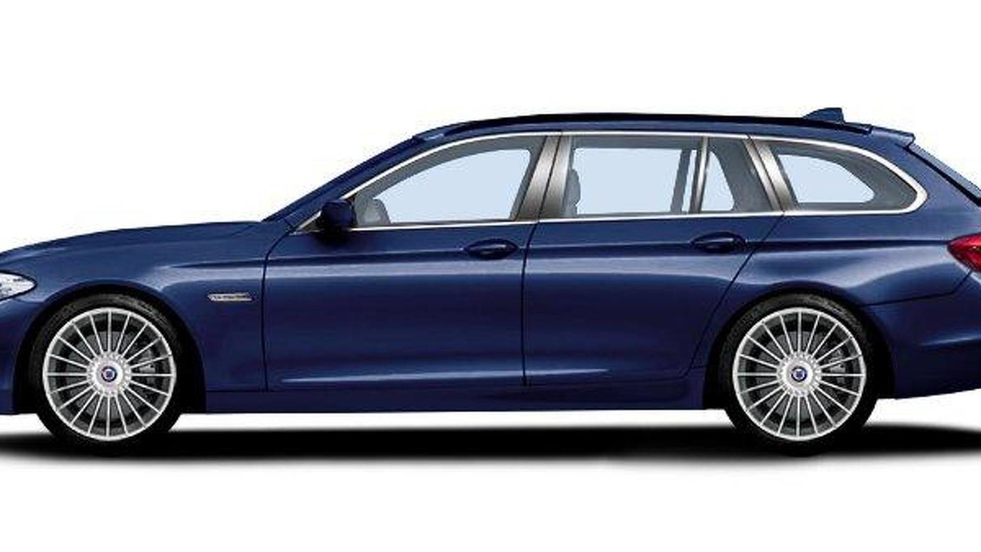 BMW Alpina to bring 2011 B5 Bi-Turbo Touring to Geneva