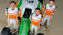 Force India pleased with di Resta's race driver pressure