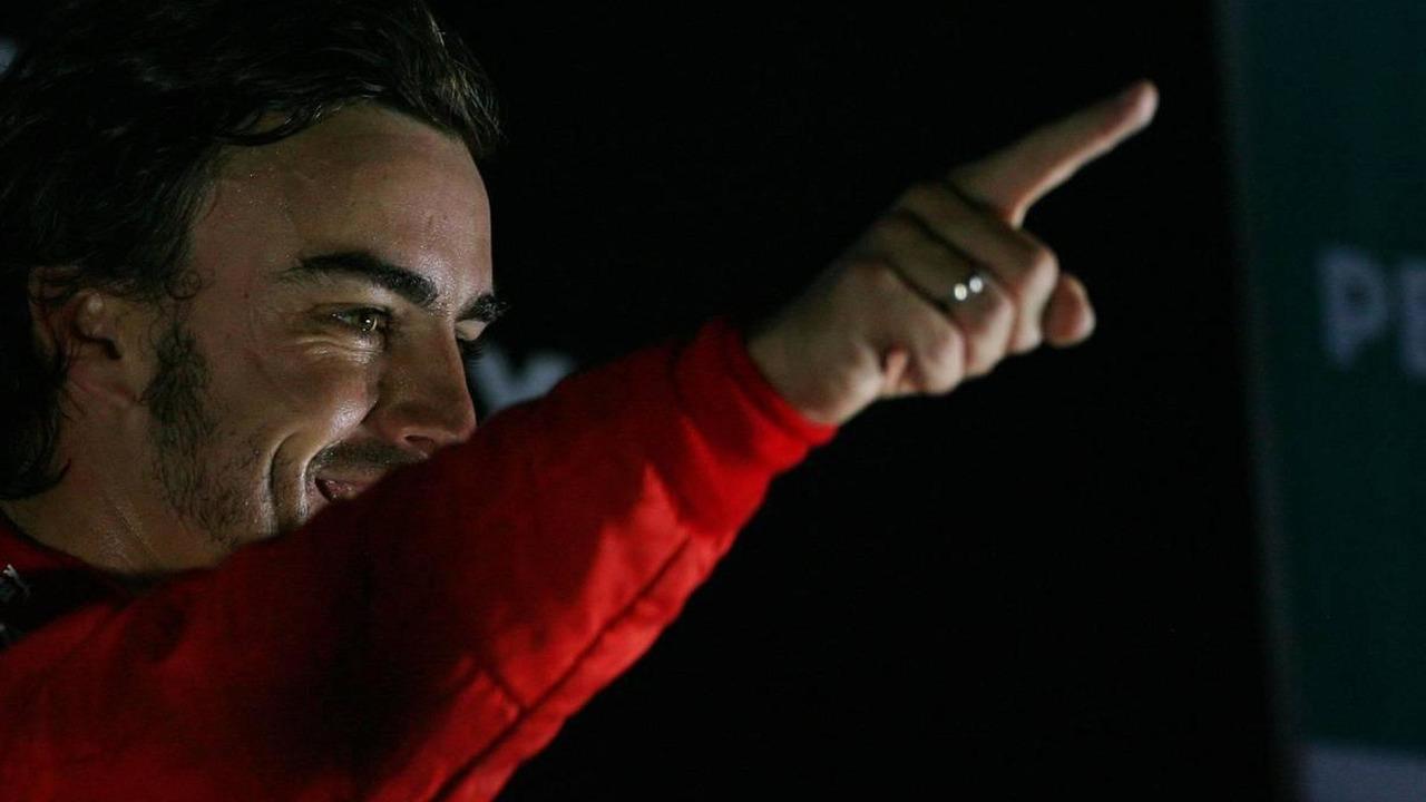 1st place Fernando Alonso (ESP), Scuderia Ferrari - Formula 1 World Championship, Rd 17, Korean Grand Prix, 24.10.2010 Yeongam, Korea